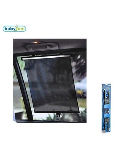 Babyjem Oto Yan Cam Güneşliği Makaralı Store 2 Ad-Baby Jem